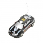 Mini 1:64 2-Kanal R / C Racing Car - Black