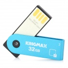 Вращение KINGMAX USB 2.0 Flash Drive - Синий (32)