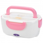 Multi-Functional Electric Heating Lunch Box with Handle - Pink