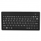 Mini Handheld Rechargeable 80-Key Bluetooth V2.0 Keyboard for Android Phone / Tablets - Black