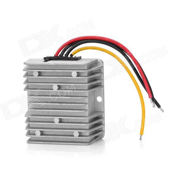 Car DC 12V to DC 24V Voltage Step Up Boost Module - Silver dc dc automatic step up down boost buck converter module 5 32v to 1 25 20v 5a continuous adjustable output voltage