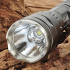 UltraFire SH-TG1 600LM 3-Mode White Flashlight - Silver Grey (1 x 18650)