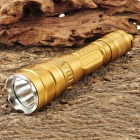 UltraFire SH-TG1 Cree XM-L T6 600LM 3-Mode White Flashlight - Golden (1 x 18650)