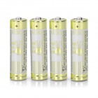 Replacement 1.5V 1800mAh AA Alkaline Battery - Golden (4 PCS)
