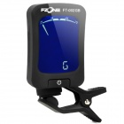 "FT-002G 1.5"" Instrument Guitar / Bass / Violin Tuner - Black"