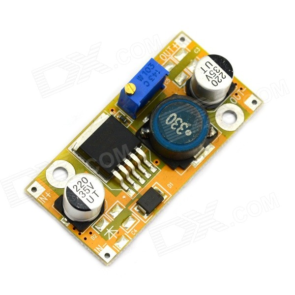 LM2596 DC-DC 1.25~27V Step Down Adjustable Power Supply Module dc dc automatic step up down boost buck converter module 5 32v to 1 25 20v 5a continuous adjustable output voltage