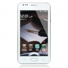 "i9220W Android 4.0 WCDMA Smartphone w/ 5.0"" Capacitive Screen, GPS, Wi-Fi and Dual-SIM - White"