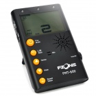 "FMT-600 2.2"" LCD Digital Chromatic Metronome Tuner for Guitar / Bass + More - Black (2 x AAA)"