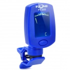 "FT-005 1.1"" LCD Digital Chromatic Tuner for Guitar / Bass / Violin / Ukulele - Blue (1 x CR2032)"