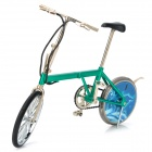 Bicycle Shaped Folding Butane Gas Lighter - Green