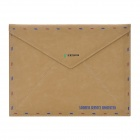 Retro Envelope Pattern Protective PU Leather Case Pouch for Iphone / The New Ipad - Brown