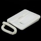 Bluetooth v2.1 + EDR Telephone Landline for iPhone 4 / 4S - White