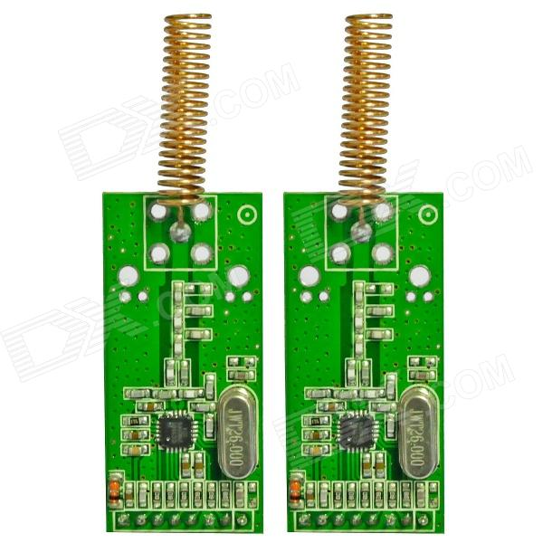 DIY CC1101 433MHz Wireless Transceiver Module for Arduino (2 PCS)Transmitters &amp; Receivers Module<br>ModelCC1101Quantity2ColorGreenMaterialCopperForm  ColorGreenQuantity2ColorGreenMaterialCopperMaterialCopperPacking List<br>