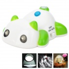 Creative Tarapanda Style 2-LED 3-Mode PIR Sensor Light - Green + White (1 x CR2032)