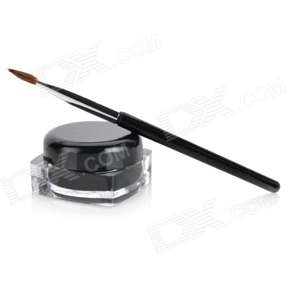 Exquisite Black Color Eyeliners Gel / Cream with Brush