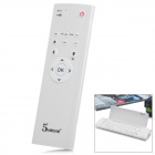 Q7 5-in-1 Rechargeable 80-Key Keyboard + Wireless Air Mouse + Remote Control + More - White