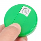 Fly Eagle FE808 USB Rechargeable Electronic Cigarette Lighter Keychain - Green