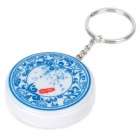 Fly Eagle FE808 USB Rechargeable Electronic Cigarette Lighter Keychain - Blue + White