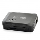 100Mbps Dual USB NAS Flash Adapter - Black