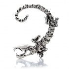 Unique Monster Style Alloy Earring - Silver