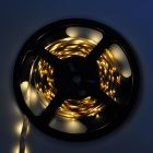 12W 1100LM blanco caliente 300 * 3528 SMD tira ligera flexible del LED (5m / 12V)