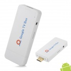 U2 Mini Android 4.0 Google TV Box w/Wi-Fi/3G/Video Call/HDMI - White (1GB DDRIII/ 4GB)