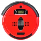 "icubot-009 2.2"" LCD Automatic Intelligent Sweeping Robot Vacuum Cleaner - Red"