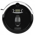 "6102.2"" LCD Automatic Intelligent Sweeping Robot Vacuum Cleaner - Black"