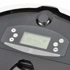 "610 2.2"" LCD Automatic Intelligent Sweeping Robot Vacuum Cleaner - Black"