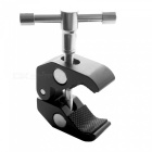 Durable Aluminum Alloy Universal Clamp for LCD Monitor - Black (Size-L)