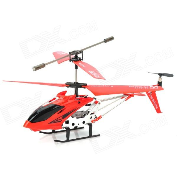 Portable Rechargeable 2.4GHz 4-CH Control R/C Helicopter w/ Gyro - Red