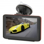 "5.0"" Resistive Touch Screen GPS Navigator w/ DVR / Bluetooth / AV IN / USA + Canada + Mexico Maps"
