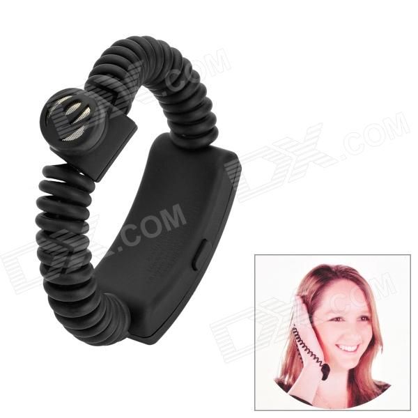 Rechargeable Bluetooth v3.0 + EDR Headset w/ Flexible Wrist Band - Black