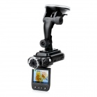 2.0'' TFT 5.0MP Wide Angle CMOS Car DVR Camcorder w/ 8-IR Night Vision / 2-LED - Black