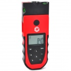 "Calibeur CB-7005 5-in-1 1.9"" LCD Distance Meter Detector - Red + Black (1 x 6F22)"