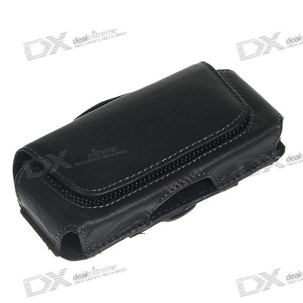 Protective Leather Case with Belt Clip for Nokia 5000/6300/7310