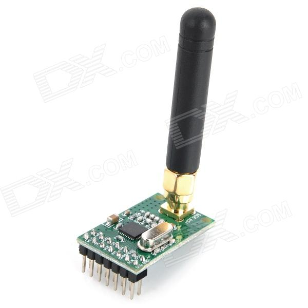 NRF905 Wireless Receive and Transmit Communication Module Board - Black + Green