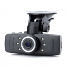 FHD1080P 1.5'' TFT 5.0MP Wide Angle CMOS Car DVR Camcorder w/ 6-IR Night Vision / G-sensor - Black