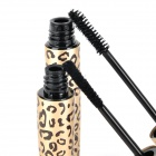 Leopard Style Cosmetic Makeup Waterproof Mascara Set - Golden (2 PCS)
