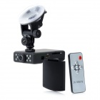 2.4'' TFT 5.0MP Wide Angle Car DVR Camcorder w/ 10-IR Night Vision / Remote Controller / G-sensor