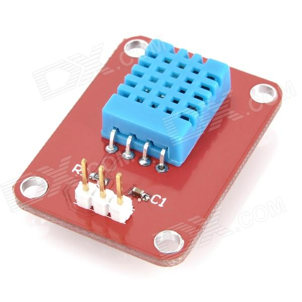 CG310 DHT11 Temperature Humidity Sensor for Arduino (Works with Official Arduino Boards) dht11 temperature relative humidity sensor module for arduino light blue