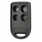 Protective PC Case for Honda 4-Button Remote Key - Black
