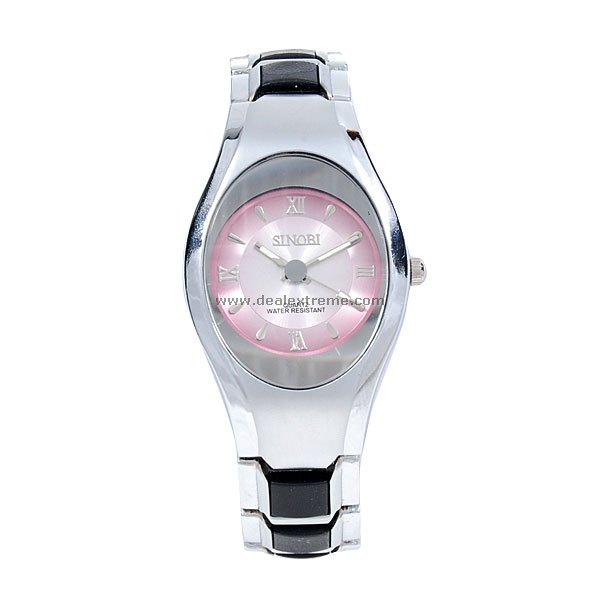 Stylish Ladies Quartz Watch Silver