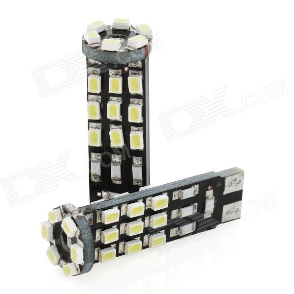 T10 1.68W  24-3020 SMD LED White Light Car Steering Lamps (DC 12V / 2 PCS)