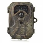 2.4'' TFT 12MP Wide Angle Hunting Camera w/  26-IR LEDs / Mini USB - Camouflage