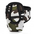 Sports Armband Bag for Iphone 3g / 3GS / 4 / 4S / Cell Phone / MP3 / MP4 - Camouflage