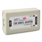 USB Debug Adapter C8051F C2/JTAG Port Emulator - White