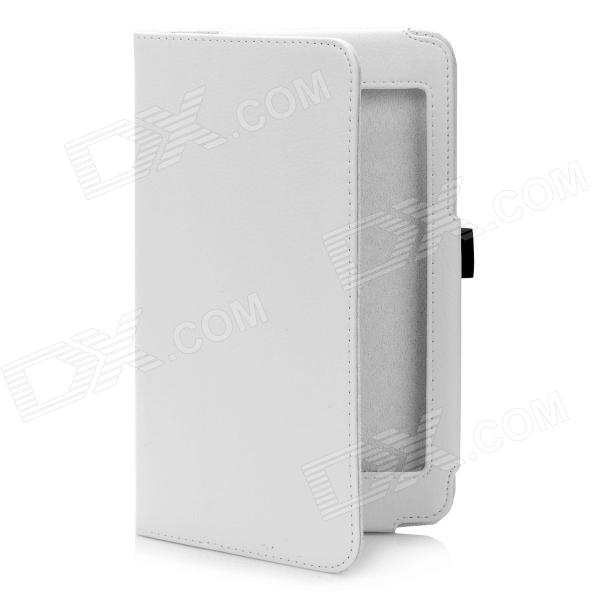 Stylish Protective PU Leather Case for Google Nexus 7 - White