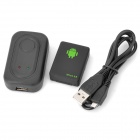 FK-A8 Mini GSM Monitor Tracker w/ SOS Emergency Call - Black