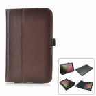 Protective PU Leather Case for Google Nexus 7 - Brown